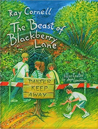 Anya Lauchlan The Beast of Blackberry Lane Cover